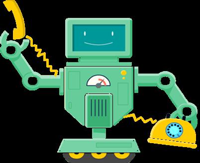 Robot contact concept
